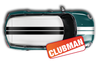 CLUBMAN sport filet (Capot+Toit+Coffre)